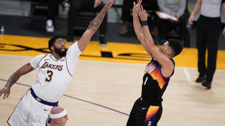 Suns Lakers Basketball