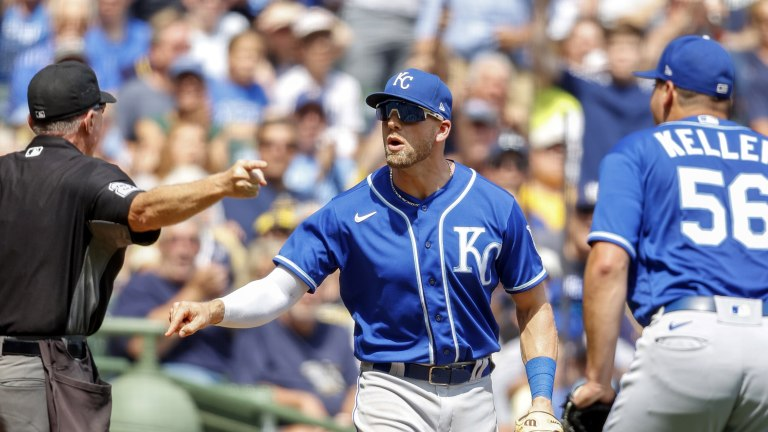 Royals Brewers Baseball