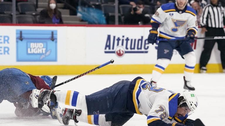 Blues Avalanche Hockey