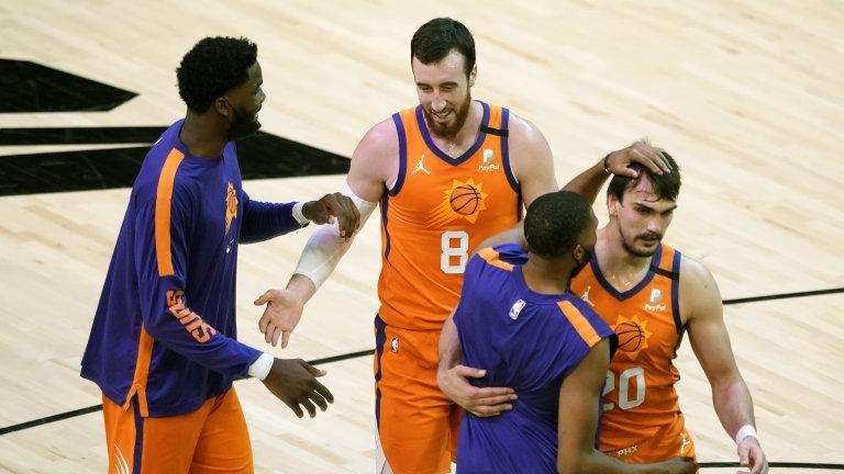 Jazz Suns Basketball