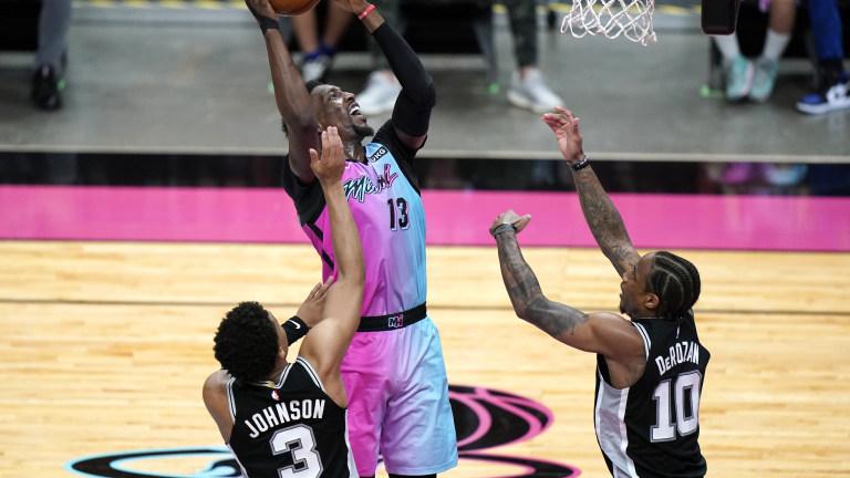 Spurs Heat Basketball