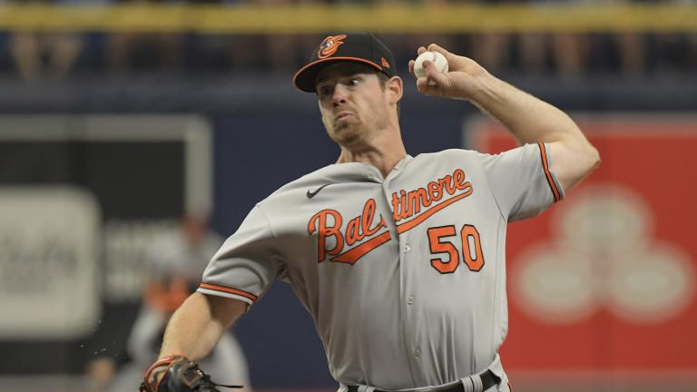 Orioles Rays Baseball