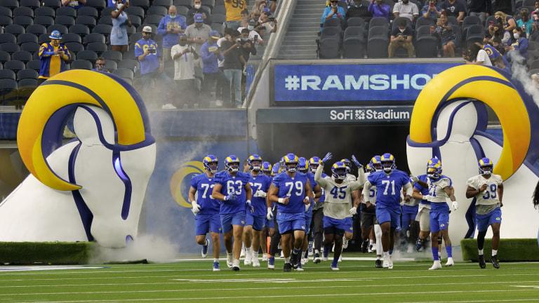 Rams Camp Football