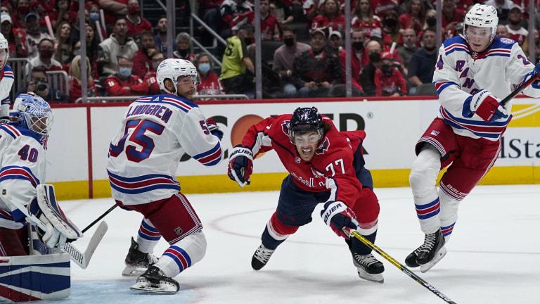 Rangers Capitals Hockey