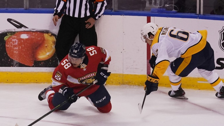 Predators Panthers Hockey