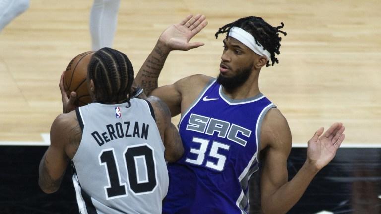 Spurs Kings Basketball