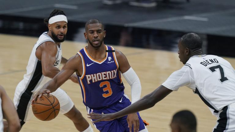 Suns Spurs Basketball