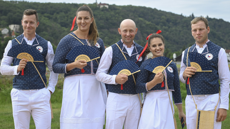 Czech Republic Olympic Uniforms