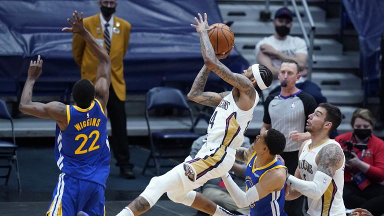 Warriors Pelicans Basketball