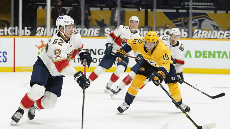 Panthers Predators Hockey
