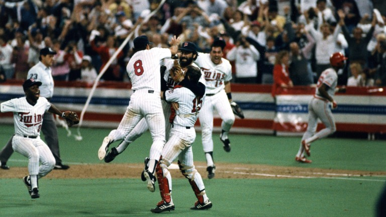 1987: Twins vs. St. Louis W, 4-2 - Frank Viola pitched eight steady innings to help the Twins clinch their first World Series championship.