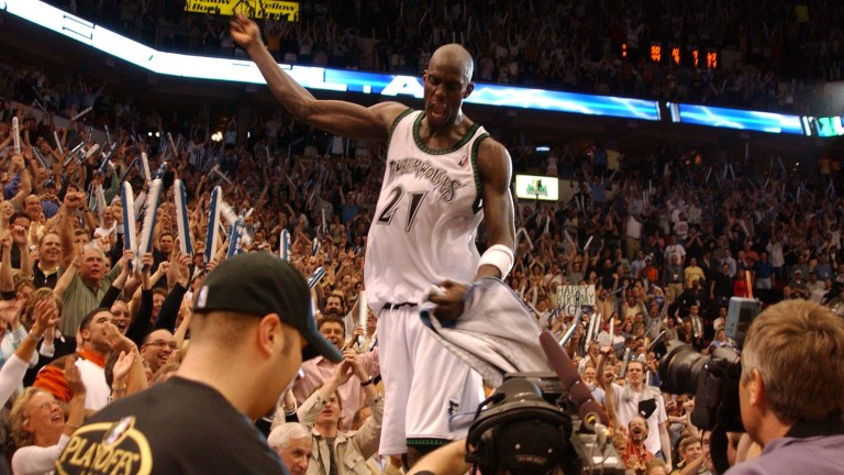 2004: Timberwolves vs. Sacramento W, 83-80 - Kevin Garnett went full beast mode with 32 points, 21 rebounds, four steals and five blocks.