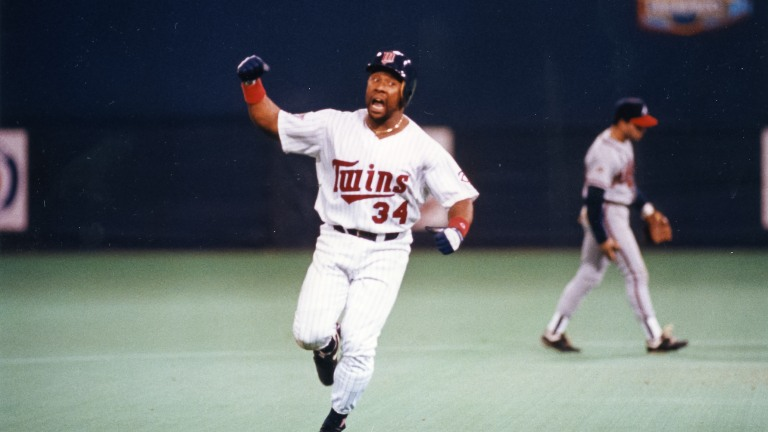 """1991: Twins vs. Atlanta W, 1-0 (10 inn.) - MLB Commissioner Fay Vincent said, """"It was probably the greatest World Series ever."""""""