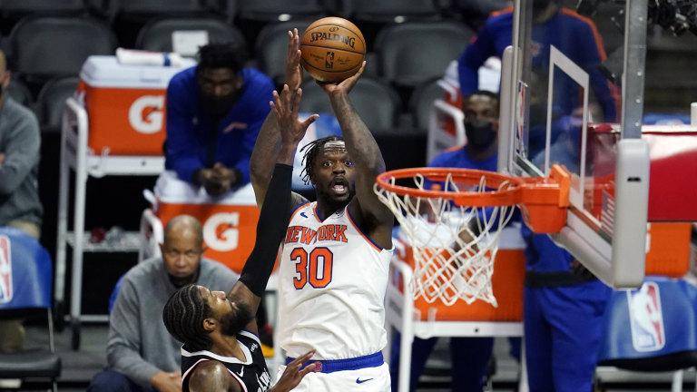 Knicks Randle Basketball